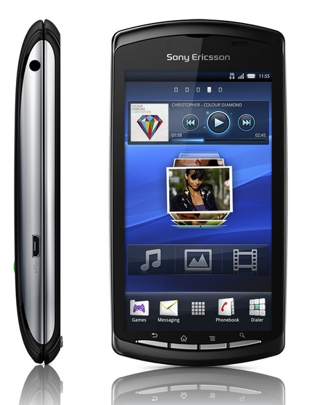 Sony Ericsson Xperia PLAY PlayStation Phone running Android OS 3