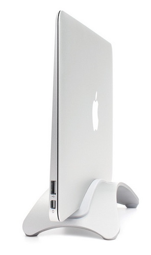 TwelveSouth BookArc for Air is a Vertical Stand for MacBook Air 2