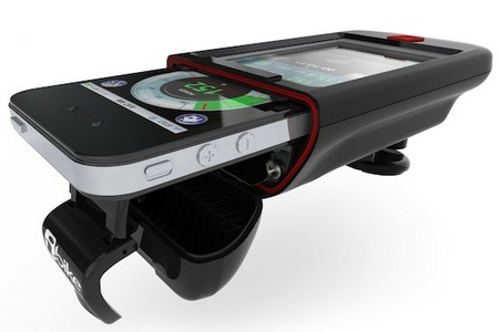 iBike Dash turns iPhone or iPod touch into Cycling Computer