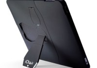 iChair iPad Case doubles as a stand