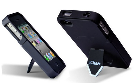 iChair iPhone 4 Case with integrated kickstand