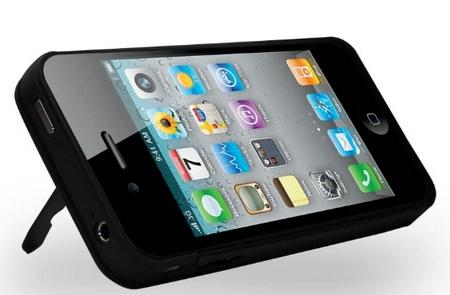 iKit iPhone 4 NuCharge Case kickstand