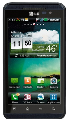 AT&T LG Thrill 4G 3D Android Phone