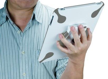 Bracketron Twist360 iPad Case on hand
