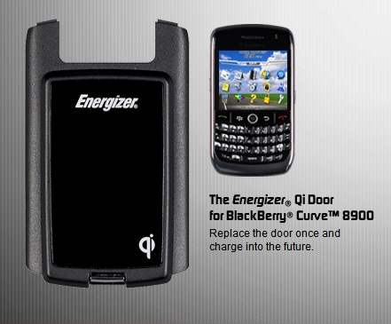 Energizer Qi Door for BlackBerry Curve 8900
