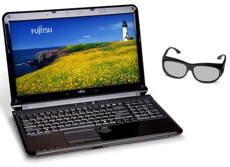 Fujitsu LifeBook AH572 Notebook with 3D Support.