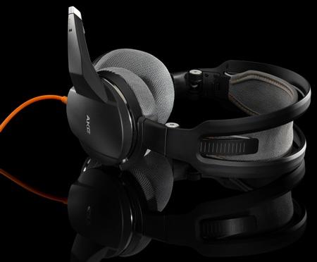 Harman AKG GHS-1 Portable Gaming Headset orange black