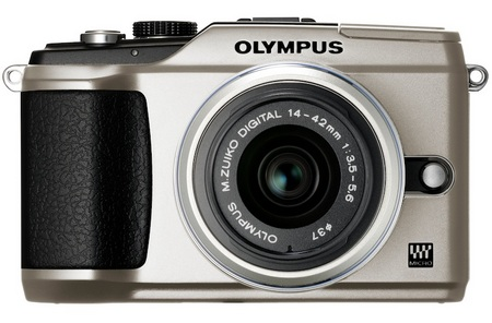 Olympus PEN E-PL2 Compact Interchangeable Lens Camera silver