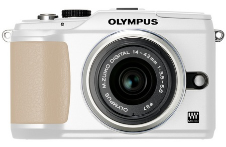 Olympus PEN E-PL2 Compact Interchangeable Lens Camera white