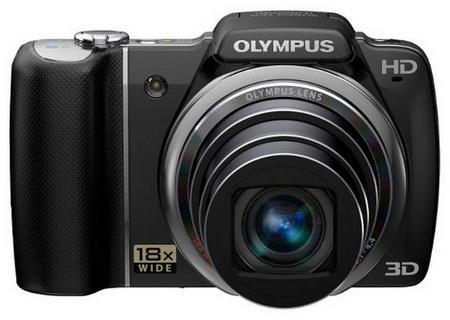 Olympus SZ-10 18x Optical Zoom Camera black