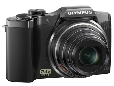 Olympus SZ-30MR Ultra Zoom Camera black