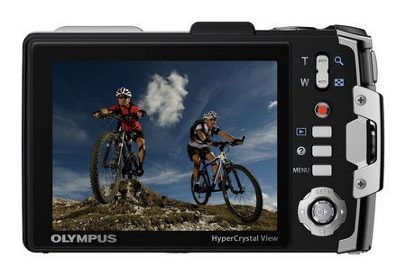 Olympus TOUGH TG-810 Ultra Rugged Digital Camera back