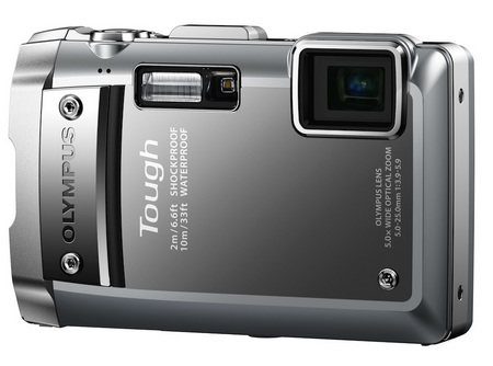 Olympus TOUGH TG-810 Ultra Rugged Digital Camera silver