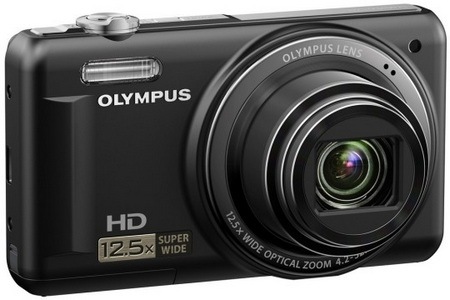 Olympus VR-320 Compact 12.5x Zoom Cameras 1