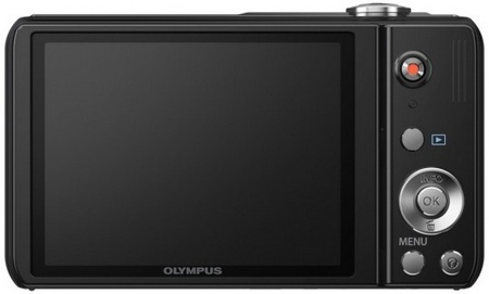 Olympus VR-330 and VR-320 Compact 12.5x Zoom Cameras back
