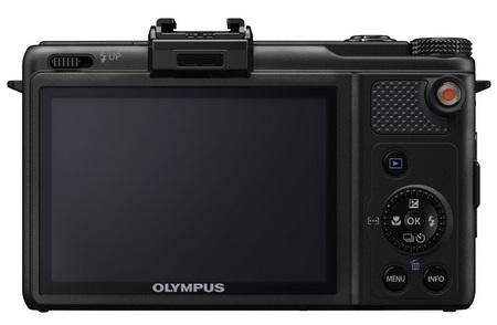 Olympus XZ-1 High-end Compact Digital Camera blac back