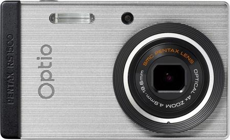 Pentax Optio RS1500 Customizable Camera silver