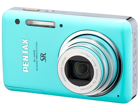 Pentax Optio S1 Digital Camera blue