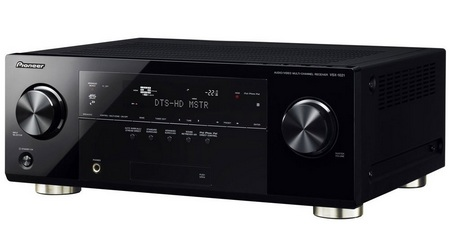 Pioneer VSX-1021 7.1-channel Home Theater Receiver with AirPlay front