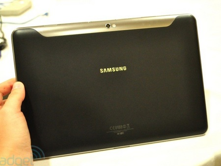 Samsung Galaxy Tab 8.9 and Galaxy Tab 10.1 Ultra Slim Tablets back