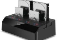 Sharkoon SATA QuickPort Quattro Quad-slot Hard Drive Dock with USB 3.0 and eSATA