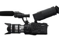 Sony NXCAM HD NEX-FS100 Super 35mm Full HD Camcorder side