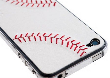 ZAGG sportLEATHER for AT&T iPhone 4 baseball