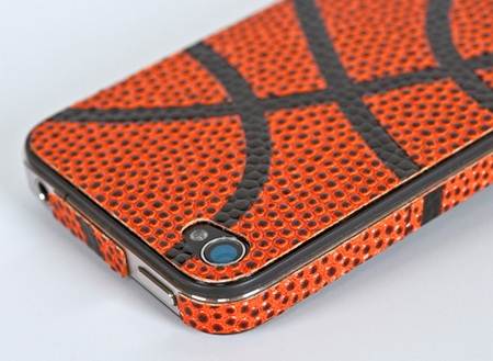 ZAGG sportLEATHER for AT&T iPhone 4 basketball