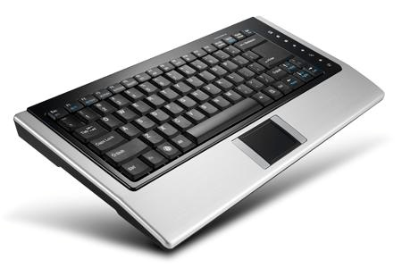 AVS Gear ZIPPY BT-637 Bluetooth Wireless Keyboard with Touchpad