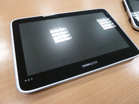 Hannspree SN10T1 android tablet 1