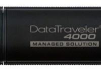Kingston DataTraveler 4000-M Managed Government-Level Secure USB Flash Drive
