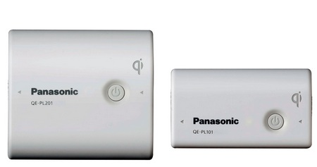 Panasonic Charge Pad QE-PL201-W and QE-PL101-W Qi-capable portable battery
