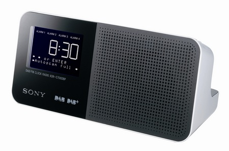 Sony XDR-C706DBP FM DAB+ clock radio