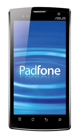 Asus Padfone combines a tablet and a smartphone phone