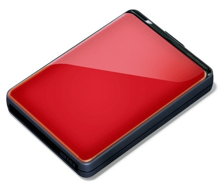 Buffalo MiniStation Plus USB 3.0 Portablel Hard Drive red