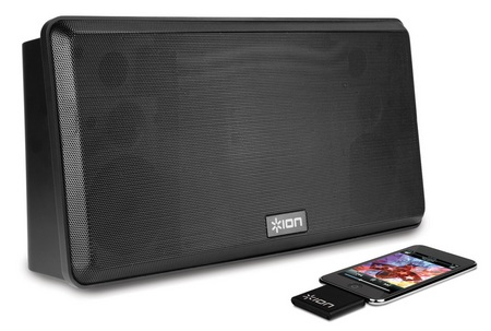 Ion Audio Anyroom Wireless Speaker System for iPhone ipod black