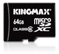 Kingmax 64GB Class 6 microSDXC Memory Card