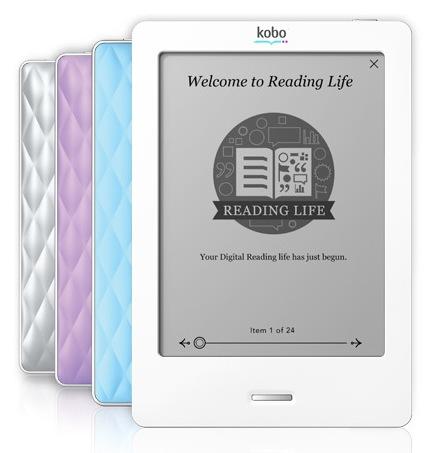 Kobo eReader Touch Edition E-book Reader