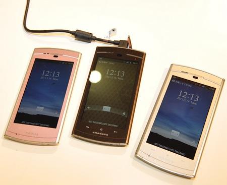 NTT DoCoMo NEC MEDIAS WP N-06C Ultra Slim Waterproof Android Smartphone hands-on
