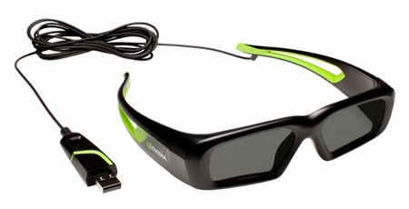 NVIDIA 3D Vision Wired Glasses