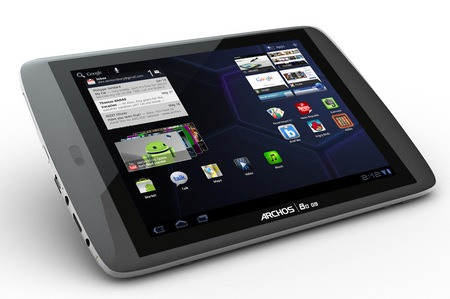 Archos 80 G9 and 101 G9 Android 3.1 Honeycomb Tablets