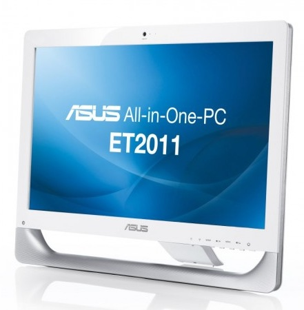 Asus Eee Top ET2011AUKB and ET2011AUTB All-in-one PCs powered by AMD Fusion white