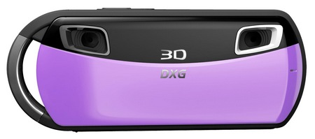 DXG DXG-018 Pocket 3D Camera lavendar