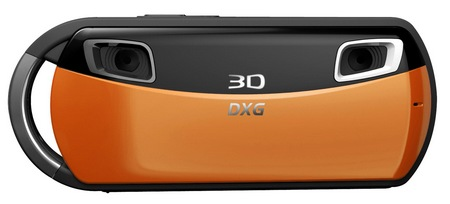 DXG DXG-018 Pocket 3D Camera orange
