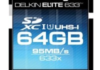 Delkin Elite633 64GB 633X UHS-I Memory Card
