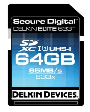 Delkin Elite633 64GB 633X UHS-I Memory Card