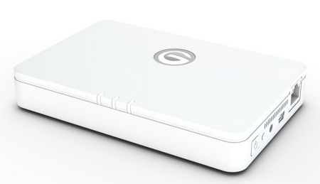 G-Technology G-CONNECT Wireless Storage and WiFi Access Point