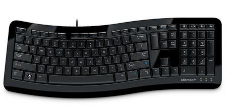 Microsoft Comfort Curve Keyboard 3000 2