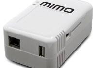 MimoPlug Compact Plug Computer bundled with MIMO Monitors