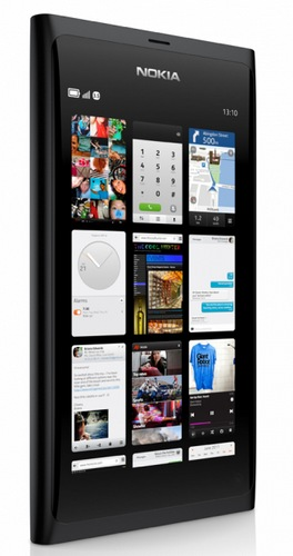 Nokia N9 MeeGo Smartphone black